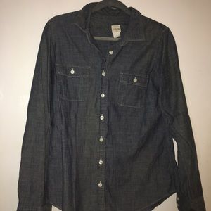 JCrew chambray button up